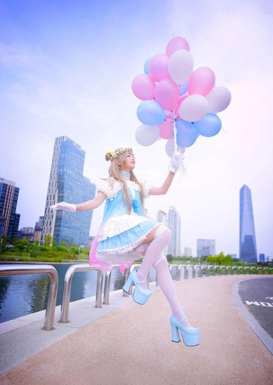 韩国螺旋猫成员Love Live!南小鸟 双颊粉嫩图片(图 1)